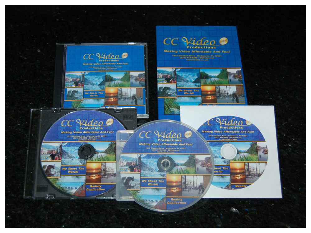 Packaging for DVD, CD and Blu-ray Duplication